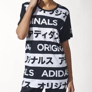 Adidas Originals Allover Typo Tee